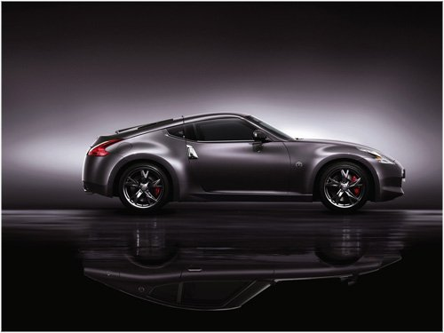 """Nissan Limited Edition 370Z """"40Th Anniversary"""" Model Car Archival Canvas Print (Rolled) 16"""" x 12"""""""