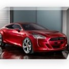 "Citroen GQ Concept Car Archival Canvas Print (Mounted) 16"" x 12"""