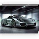 "Porsche 918 Spyder Concept Car Archival Canvas Print (Mounted) 16"" x 12"""