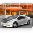 "Kia Ray Concept Car Archival Canvas Print (Mounted) 16"" x 12"""