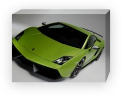 "Lamborghini Gallardo LP 570-4 Superleggera Car Archival Canvas Print (Mounted) 16"" x 12"""