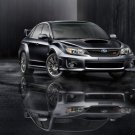 "Subaru Impreza WRX STI 2011 Archival Canvas Print (Rolled) 16"" x 12"""
