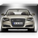 "Audi A8 L W12 2011 Car Archival Canvas Print (Mounted) 16"" x 12"""