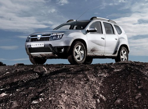 """Dacia Duster 2011 Car Poster Print on 10 mil Archival Satin Paper 16"""" x 12"""""""
