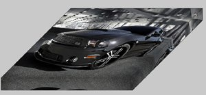 "Ford Mustang DUB Edition Archival Canvas Car Print (Mounted) 16"" x 12"""