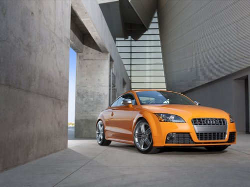"""Audi TTS Coupe 2011 Archival Canvas Car Print (Rolled) 16"""" x12"""""""