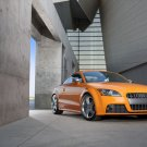 "Audi TTS Coupe 2011 Archival Canvas Car Print (Rolled) 16"" x12"""