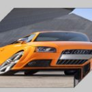 """Audi TTS Coupe 2011 Archival Canvas Car Print (Mounted) 16"""" x 12"""""""