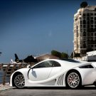 "GTA Spano Archival Canvas Car Print (Rolled) 16"" x 12"""