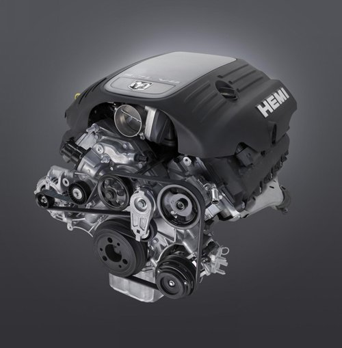 "Dodge Challenger 5.7 L V8 Hemi Engine 2010 Poster Print on 10 mil Archival Satin Paper 20"" x 20"""