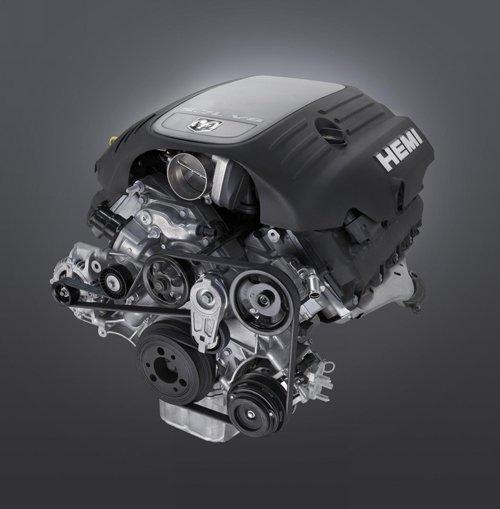 "Dodge Challenger 5.7 L V8 Hemi Engine 2010 Archival Canvas Print (Rolled) 16"" x 12"""