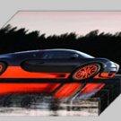 "Bugatti Veyron Super Sport Archival Canvas Car Print (Mounted) 16"" x 12"""