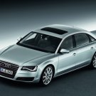 "Audi A8 L 2011 Car Poster Print on 10 mil Archival Satin Paper 16"" x 12"""