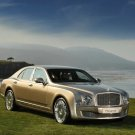 "Bentley Mulsanne Pebble Beach Car Poster Print on 10 mil Archival Satin Paper 16"" X 12"""