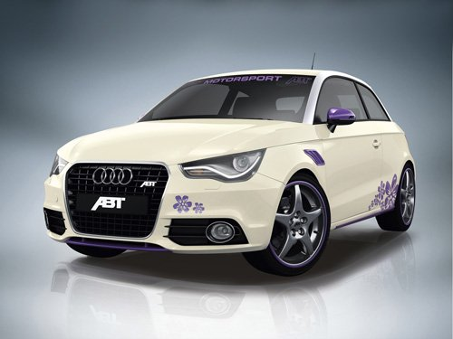 "ABT Audi A1 Car Poster Print on 10 mil Archival Satin Paper 16"" x 12"""