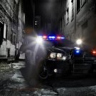 "Dodge Charger Pursuit Car Poster Print on 10 mil Archival Satin Paper 16"" x 12"""