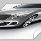 "Bentley Continental GT 2012 Archival Canvas Car Print (Mounted) 16"" x 12"""