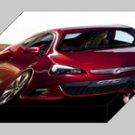 """Vauxhall GTC Paris Concept Archival Canvas Car Print (Mounted) 16"""" x 12"""""""