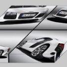 "Audi R8 V10 5.2 FSI quattro 2010 Montage Archival Canvas Car Print (Mounted) 16"" x 12"""