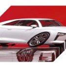 "Audi quattro Paris Concept Archival Canvas Car Print (Mounted) 16"" x 12"""