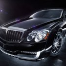 "Maybach Xenatec Coupe Car Poster Print on 10 mil Archival Satin Paper 16"" x 12"""