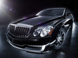 """Maybach Xenatec Coupe Car Poster Print on 10 mil Archival Satin Paper 16"""" x 12"""""""