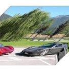 "Lavazza GTX-R Archival Canvas Car Print (Mounted) 16"" x 12"""