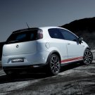 """Fiat Abarth Grande Punto Preview Car Poster Print on 10 mil Archival Satin Paper 16"""" x 12"""""""