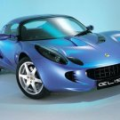 "Lotus Elise Car Poster Print on 10 mil Archival Satin Paper 16"" x 12"""