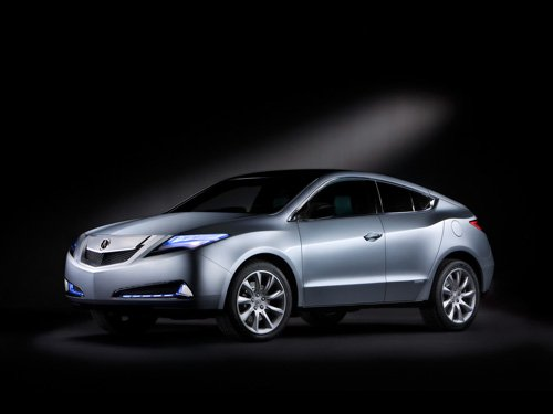 "Acura ZDX Concept Car Poster Print on 10 mil Archival Satin Paper 16"" x 12"""
