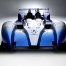 """Acura ALMS Race Car Poster Print on 10 mil Archival Satin Paper 16"""" x 12"""""""
