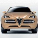 "Alfa Romeo Kamal Car Poster Print on 10 mil Archival Satin Paper 16"" x 12"""