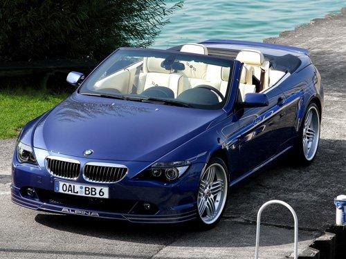 "Alpina BMW Cabrio B6 Car Poster Print on 10 mil Archival Satin Paper 16"" x 12"""