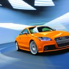 "Audi TTS Coupe 2011 Car Poster Print on 10 mil Archival Satin Paper 16"" x 12"""