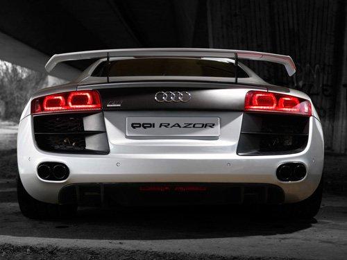 """Audi PPI R8 Razor Car Poster Print on 10 mil Archival Satin Paper 16"""" x 12"""""""