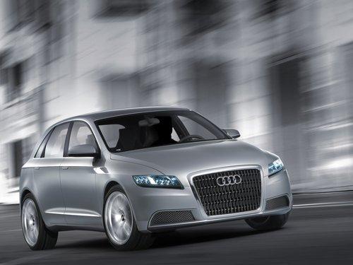 "Audi RoadJet Concept Car Poster Print on 10 mil Archival Satin Paper 16"" x 12"""