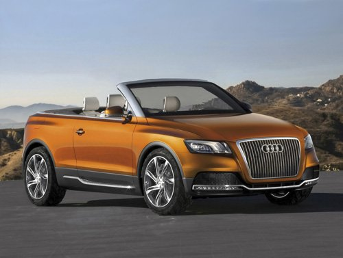 "Audi Cross Cabriolet Quattro Car Poster Print on 10 mil Archival Satin Paper 16"" x 12"""