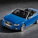 "Audi S5 Convertible 2010 Car Poster Print on 10 mil Archival Satin Paper 16"" x 12"""