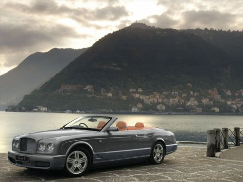 """Bentley Azure T Car Poster Print on 10 mil Archival Satin Paper 16"""" X 12"""""""