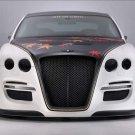 "Bentley ASI Continental Tetsu GTR Car Poster Print on 10 mil Archival Satin Paper 16"" X 12"""