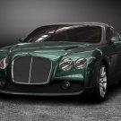 """Bentley GTZ Zagato Car Poster Print on 10 mil Archival Satin Paper 20"""" x 15"""""""