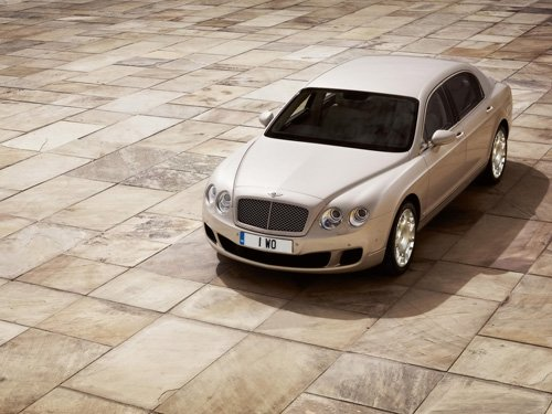 """Bentley Continental Flying Spur Car Poster Print 20"""" x 15"""""""