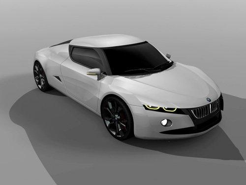 "BMW M2 Concept Car Poster Print on 10 mil Archival Satin Paper 20"" x 15"""