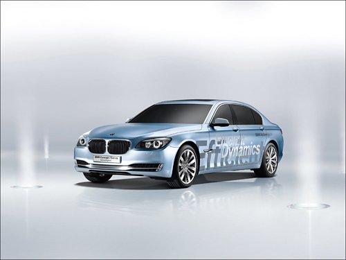 "2008 BMW 7-Series ActiveHybrid Concept Car Poster Print 16"" x 12"""