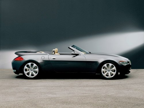 "BMW Z9 Convertible Concept Car Poster Print on 10 mil Archival Satin Paper 16"" x 12"""