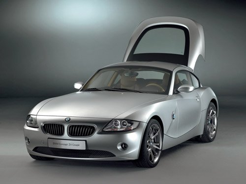 """BMW Z4 Coupe Concept Car Poster Print on 10 mil Archival Satin Paper 16"""" x 12"""""""