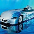"BMW H2R Hydrogen Race Car Poster Print 16"" x 12"""