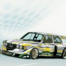 "BMW Art Car Collection Poster Print 16"" x 12"""