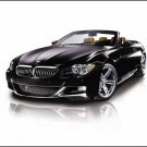 "BMW M6 Convertible Neiman Marcus Car Poster Print on 10 mil Archival Satin Paper 16"" x 12"""