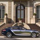 "Bugatti 16 C Galibier Concept Car Poster Print on 10 mil Archival Satin Paper 16"" x 12"""